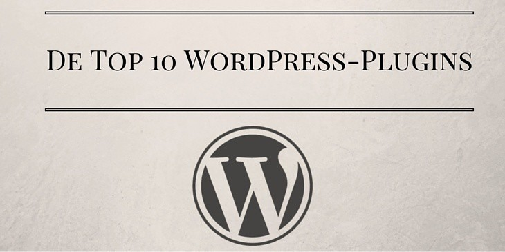 Top 10 WordPress-plugins