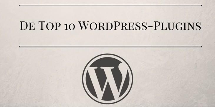 Top 10 WordPress-plugins