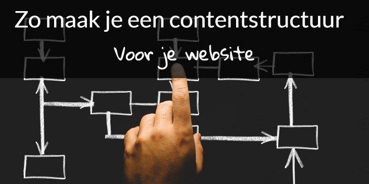 Contentstructuur voor je website