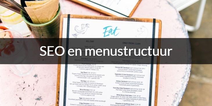 SEO en menustructuur