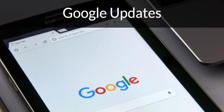 Google updates.