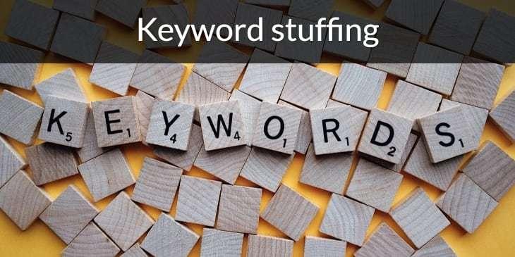 Keyword stuffing: wat is het en hoe voorkom je het?