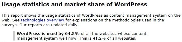 Gebruikersstatistieken WordPress.